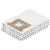 Бумажные фильтр-мешки к пылесосу Karcher WD1 (5 шт)