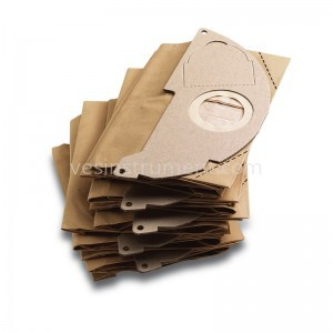 Бумажные фильтр-мешки к пылесосу Karcher WD2 (5 шт)