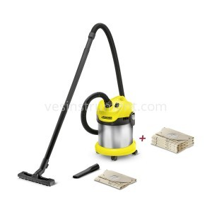 Пылесос Karcher WD 2 Premium Basic / 1000 Вт