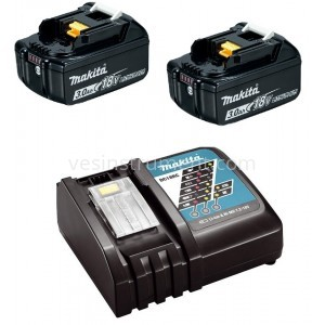 Набор Makita LXT (DLXMUA182RC2) / аккумулятор BL1830B / зарядное DC18RC