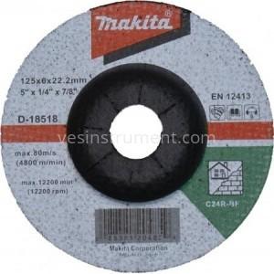 Диск зачистной по камню Makita C24R BF 125/6.0