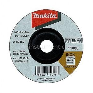Диск зачистной по нержавеющей стали Makita WA36N BF 150/6.0