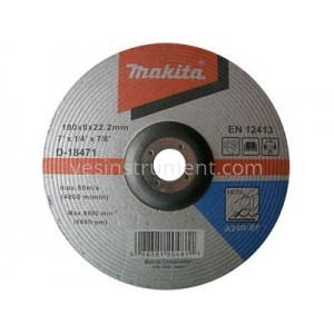 Диск зачистной по металлу Makita A24R BF 180/6.0