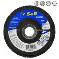 Диск зачистной лепестковый S&R Meister T29 125/22.2 P80