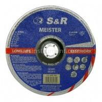 Диск зачистной по металлу S&R Meister A24R BF 230/6.0