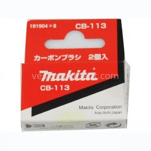 Щетки угольные Makita CB-113 / 14.8х9.9х6.0 мм