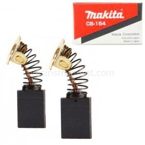 Щетки угольные Makita CB-154 / 17.8х13.4х6.5 мм