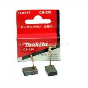 Щетки угольные Makita CB-325 / 15.8х11.0х4.9 мм