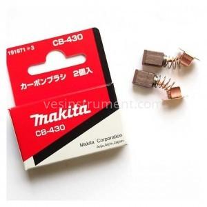 Щетки угольные Makita CB-430 / 9.7х7.2х6.9 мм