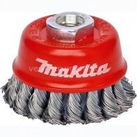 Щетка чашечная Makita / витая сталь (100 мм)