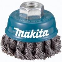 Щетка чашечная Makita / витая сталь (60 мм)