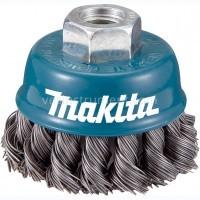 Щетка чашечная Makita / витая сталь (75 мм)