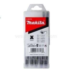 Набор сверл по бетону Makita SDS-Plus / 5 ед.