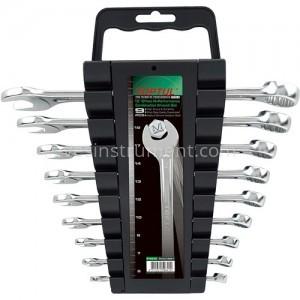 Набор комбинированных гаечных ключей TOPTUL Hi-Performance / 6-19 мм / 9 ед.