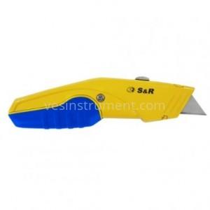 Нож строительный S&R / 168 мм