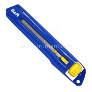 Нож строительный S&R / 170 мм