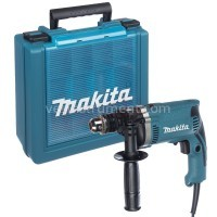 Дрель с ударом Makita HP1630K (кейс) / 710 Вт