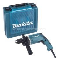 Дрель с ударом Makita HP1631K (кейс) / 710 Вт