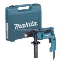 Дрель с ударом Makita HP1641K (кейс) / 680 Вт