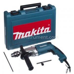 Дрель с ударом Makita HP2050H / 720 Вт