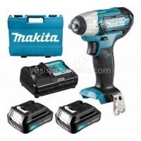 Аккумуляторный гайковерт Makita TW140DWA / CXT 10.8 В (2.0 А)