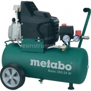 Компрессор Metabo Basic 250-24 W / 8 Бар (1500 Вт)