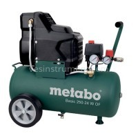 Компрессор Metabo Basic 250-24 W OF / 8 Бар (1500 Вт)