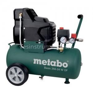 Компрессор Metabo Basic 250-24 W OF / 8 Бар (1500 Вт)