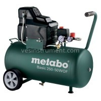 Компрессор Metabo Basic 250-50 W OF / 8 Бар (1500 Вт)