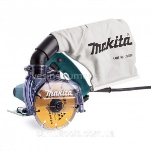 Ручная дисковая пила по камню Makita 4100KB / Ø125 мм (1400 Вт)