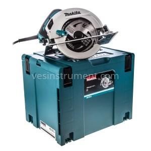 Ручная дисковая пила Makita HS7601J (кейс Makpac) / Ø190 мм (1200 Вт)