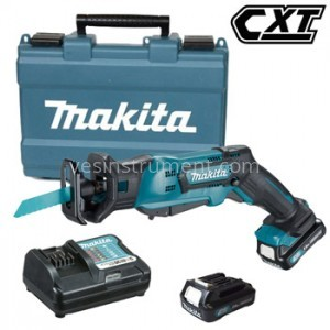 Пила сабельная аккумуляторная Makita JR103DWAE / CXT 10.8 В (2 А)